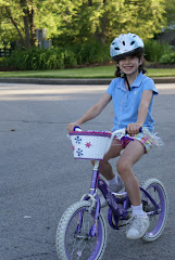 Riley Riding Her Bike