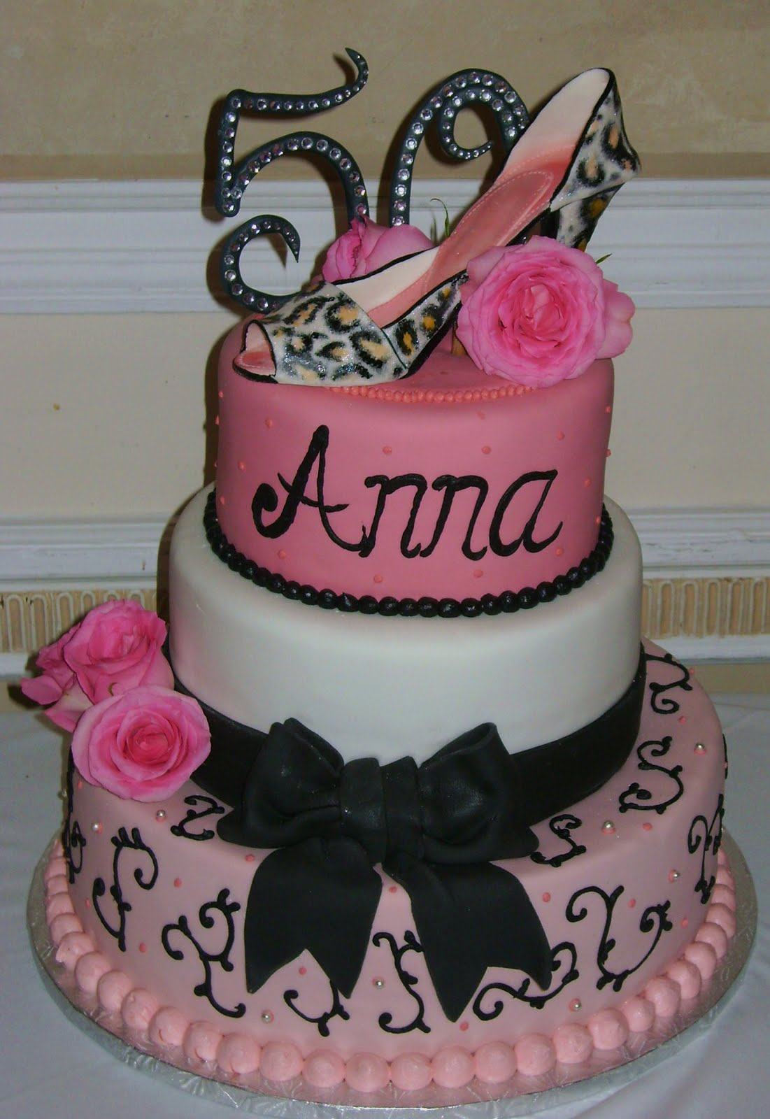 Cake Designs For Birthday Woman : Birthday Cakes Lover: 50th Birthday Cakes