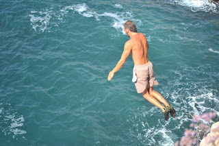Cliff Jumping in Bulgaria