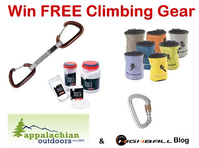 Win Free Climbing Gear