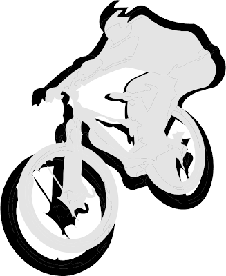 Mountain Bike Vector Design