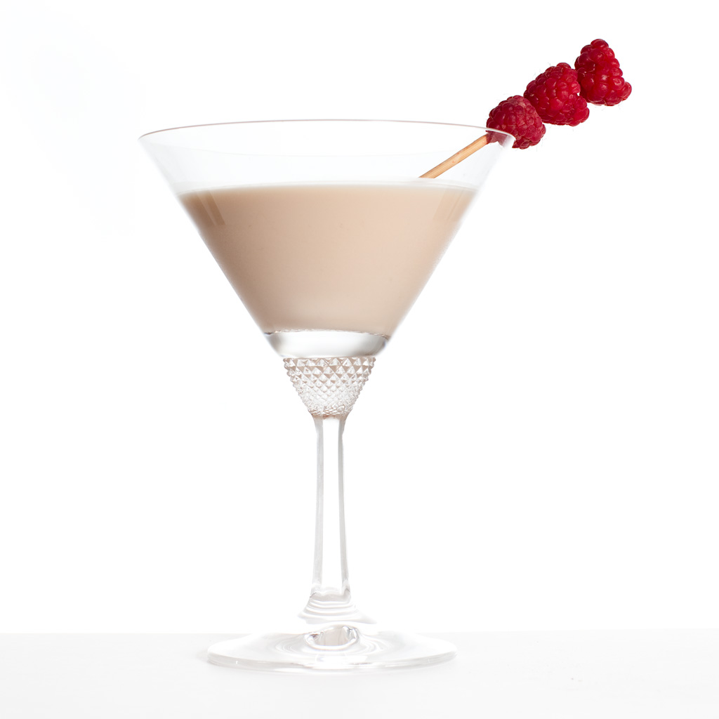 Raspberry truffle cocktail | Coconut Raita
