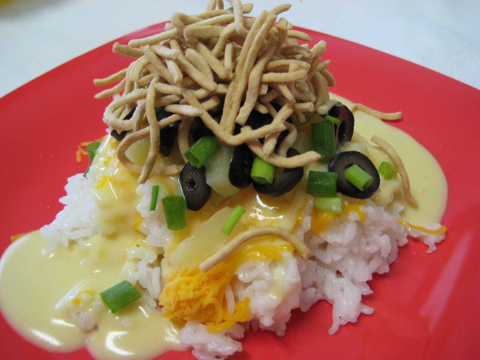 Delectable Food Made Simple: Hawaiian Haystacks