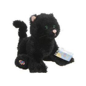 Cheap Cat Toys - Webkinz Halloween Black Cat Limited Edition
