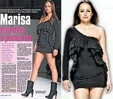 MARISA CRUZ DESLUMBRANTE NO PORTUGAL FASHION