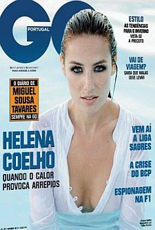 HELENA COELHO NA REVISTA GQ SETEMBRO 2008