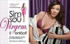 "MARGARIDA MENEZES (PRESIDENTE DO CLUBE DAS VIRGENS) DESPE-SE PARA A REVISTA ""VIDAS"""