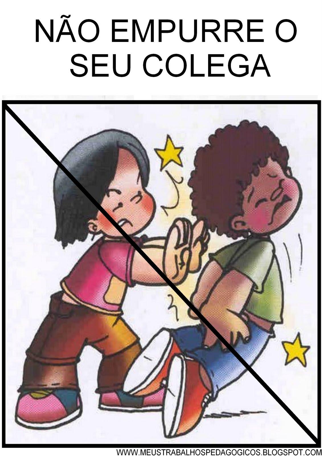 REGRAS DE CONVIVÊNCIA PARA EDUCAÇÃO INFANTIL