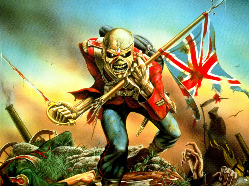 Metal Music Wallpaper: Iron Maiden Wallpaper