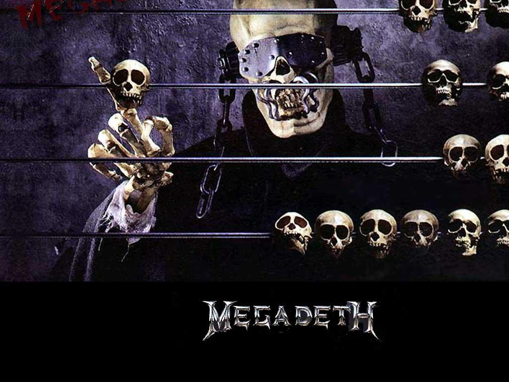 Metal Music Wallpaper Megadeth