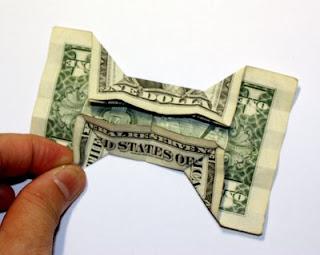 origami n stuff 4 kids origami dollar bill bow tie
