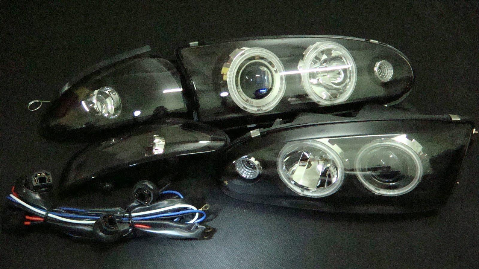Wira projector headlamp ccfl