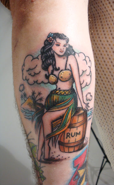 and hula girls tattoo pictures to pin on pinterest. Black Bedroom Furniture Sets. Home Design Ideas