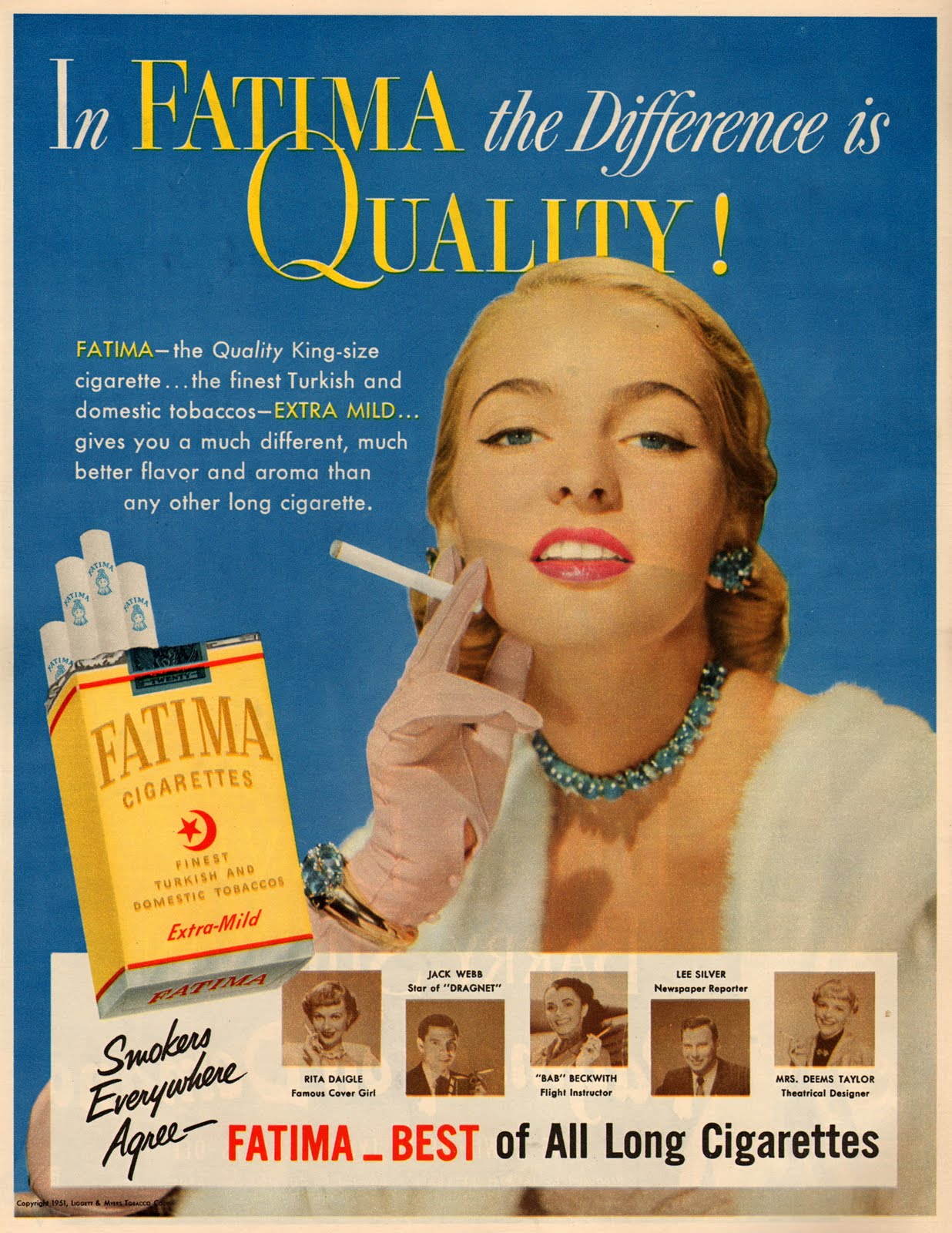 cigarette advertisements In the united states, cartoon characters are a no-no in cigarette ads, and candy-  or fruit-flavored cigarettes can't be sold but that's not the case.