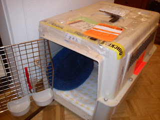 cat travel crate