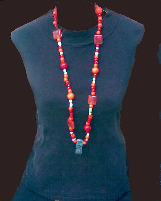 Collar extra large con vidrio fusiòn