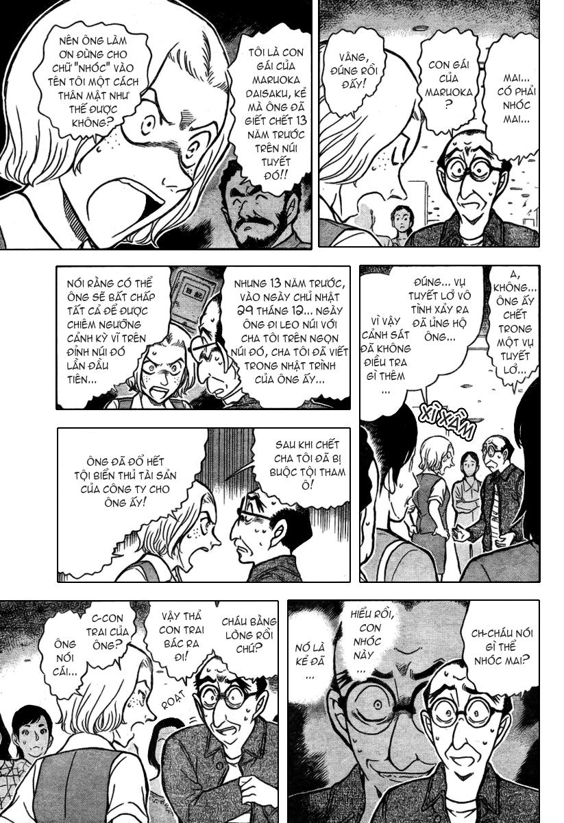 Detective Conan - Thám Tử Lừng Danh Conan chap 703 page 11 - IZTruyenTranh.com