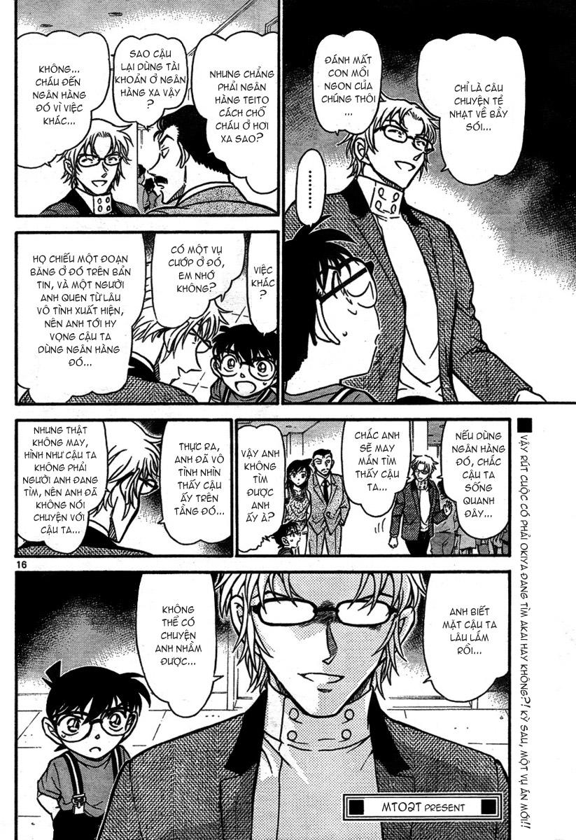 Detective Conan - Thám Tử Lừng Danh Conan chap 704 page 16 - IZTruyenTranh.com
