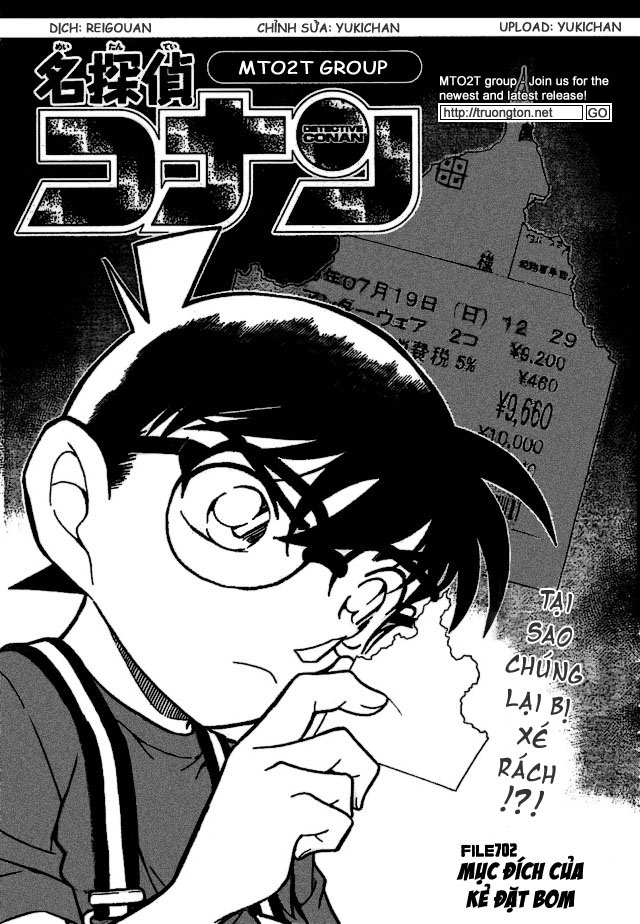 Detective Conan - Thám Tử Lừng Danh Conan chap 702 page 1 - IZTruyenTranh.com