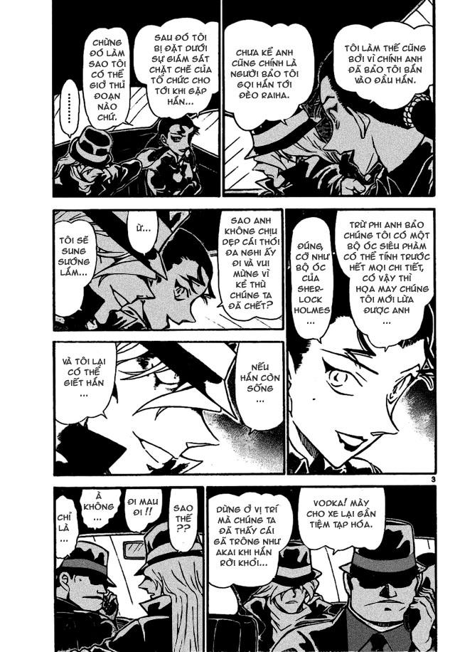Detective Conan - Thám Tử Lừng Danh Conan chap 702 page 3 - IZTruyenTranh.com