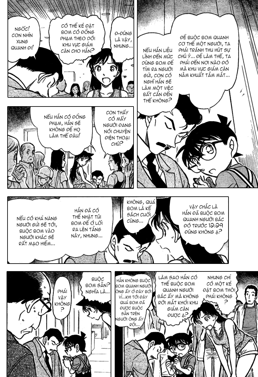 Detective Conan - Thám Tử Lừng Danh Conan chap 703 page 8 - IZTruyenTranh.com