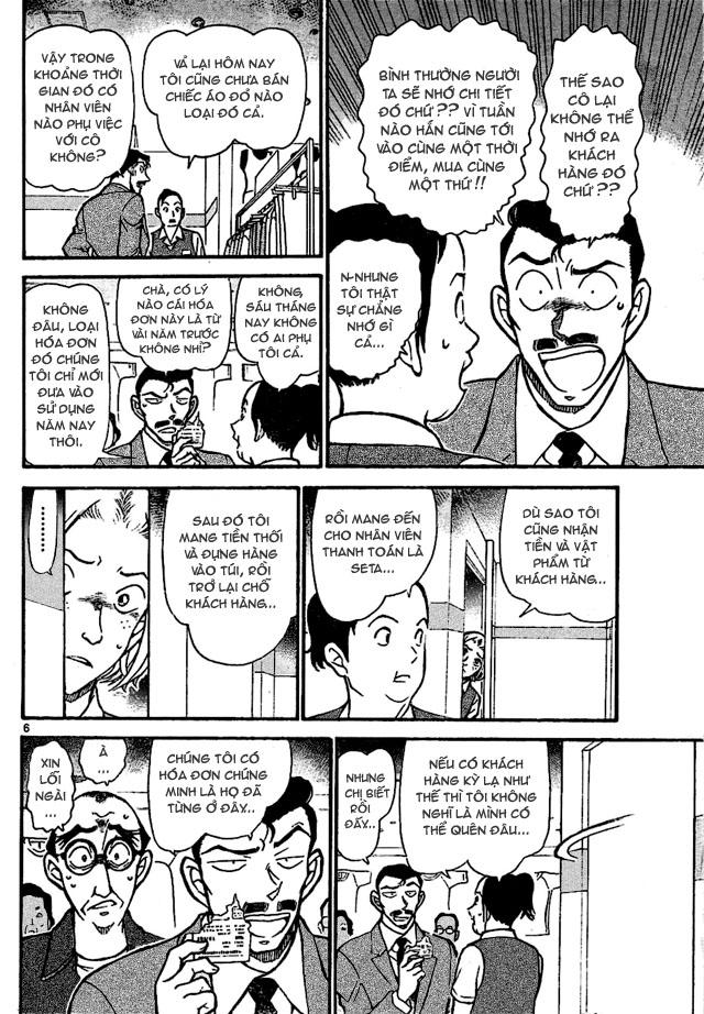 Detective Conan - Thám Tử Lừng Danh Conan chap 702 page 6 - IZTruyenTranh.com