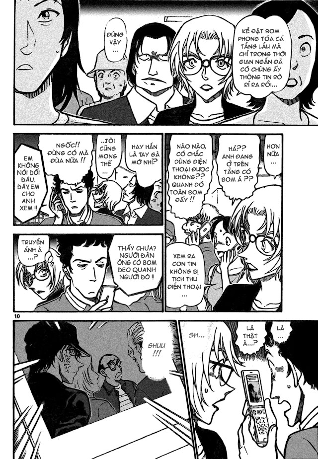 Detective Conan - Thám Tử Lừng Danh Conan chap 702 page 10 - IZTruyenTranh.com