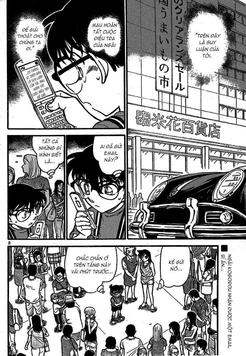 Detective Conan - Thám Tử Lừng Danh Conan chap 704 page 2 - IZTruyenTranh.com