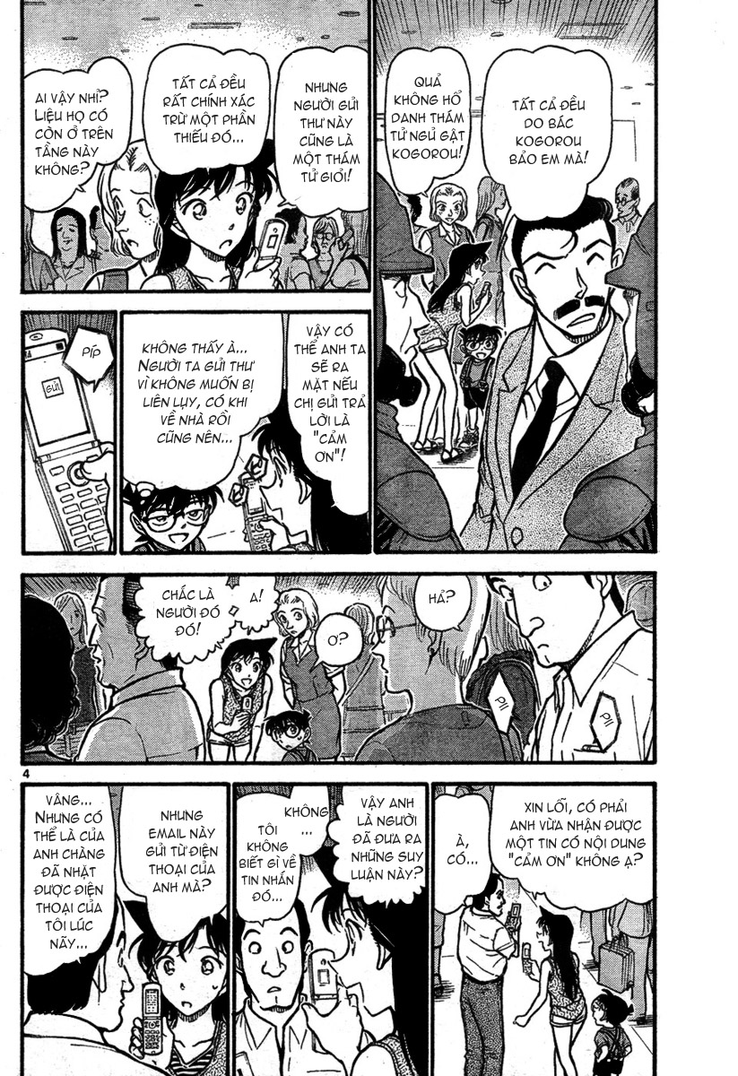 Detective Conan - Thám Tử Lừng Danh Conan chap 704 page 4 - IZTruyenTranh.com
