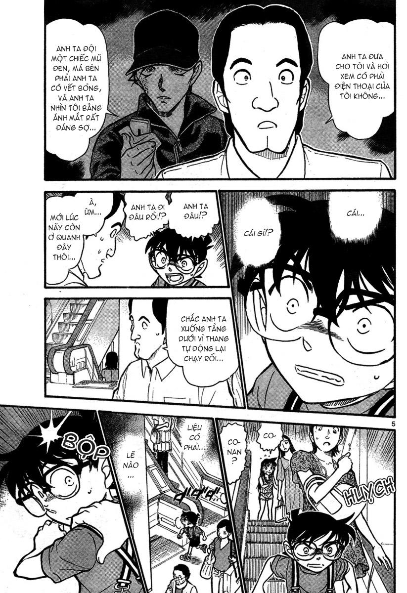 Detective Conan - Thám Tử Lừng Danh Conan chap 704 page 5 - IZTruyenTranh.com