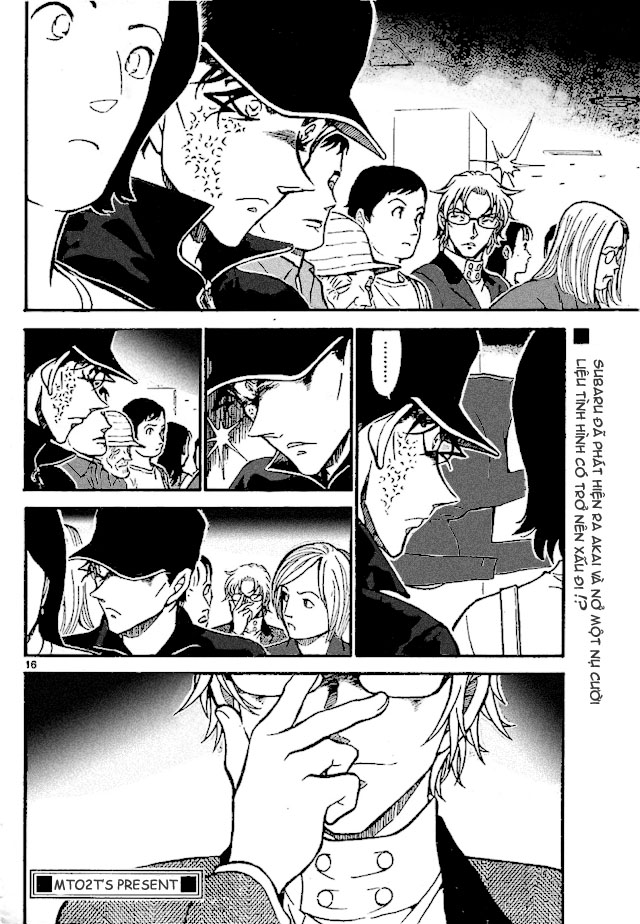 Detective Conan - Thám Tử Lừng Danh Conan chap 702 page 16 - IZTruyenTranh.com