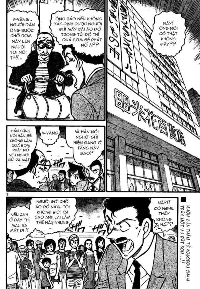 Detective Conan - Thám Tử Lừng Danh Conan chap 701 page 2 - IZTruyenTranh.com