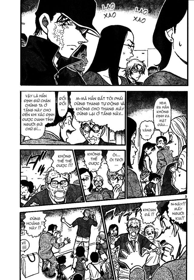 Detective Conan - Thám Tử Lừng Danh Conan chap 701 page 3 - IZTruyenTranh.com
