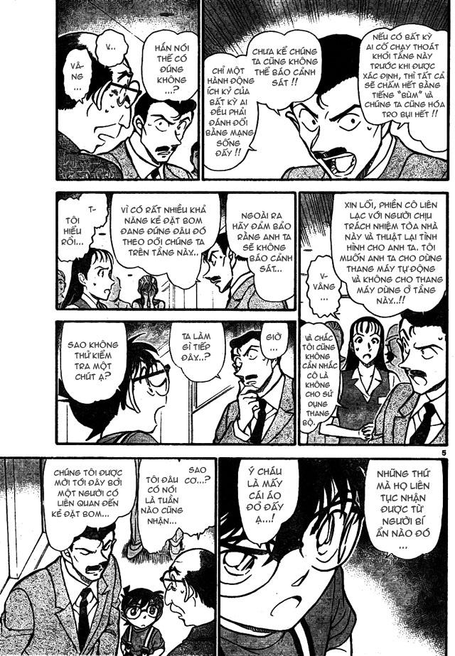 Detective Conan - Thám Tử Lừng Danh Conan chap 701 page 5 - IZTruyenTranh.com