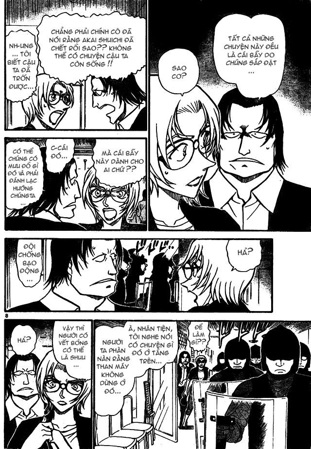 Detective Conan - Thám Tử Lừng Danh Conan chap 701 page 8 - IZTruyenTranh.com
