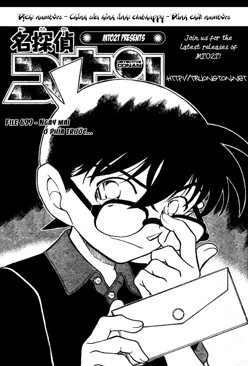 Detective Conan - Thám Tử Lừng Danh Conan chap 699 page 1 - IZTruyenTranh.com