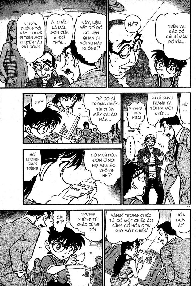 Detective Conan - Thám Tử Lừng Danh Conan chap 701 page 11 - IZTruyenTranh.com