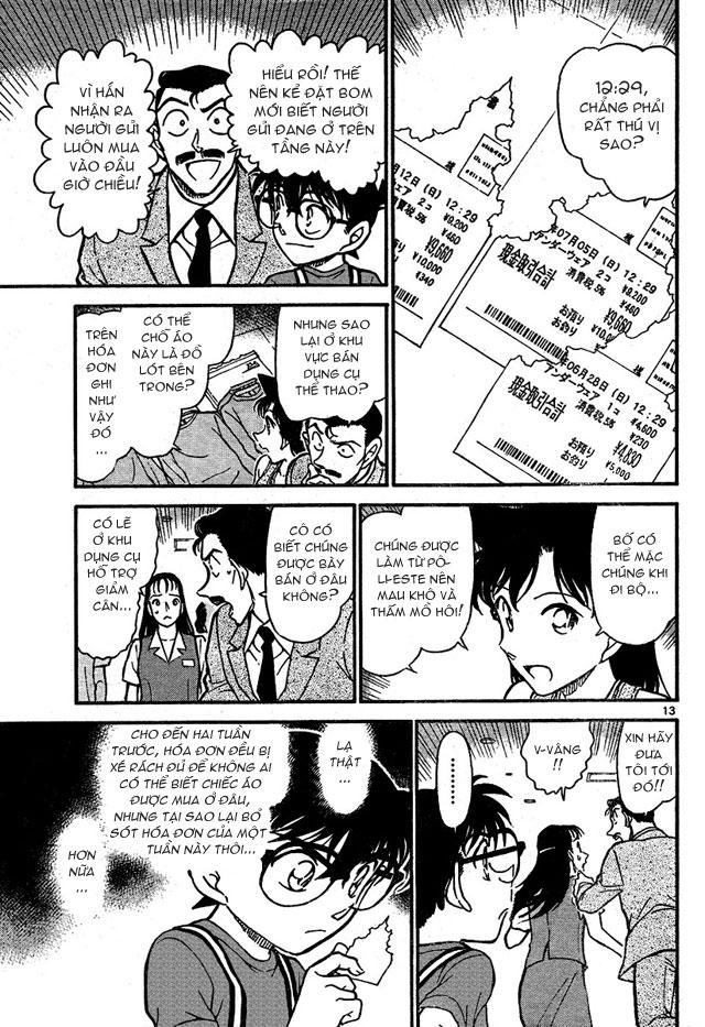 Detective Conan - Thám Tử Lừng Danh Conan chap 701 page 13 - IZTruyenTranh.com