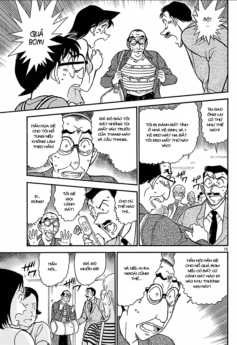 Detective Conan - Thám Tử Lừng Danh Conan chap 700 page 15 - IZTruyenTranh.com