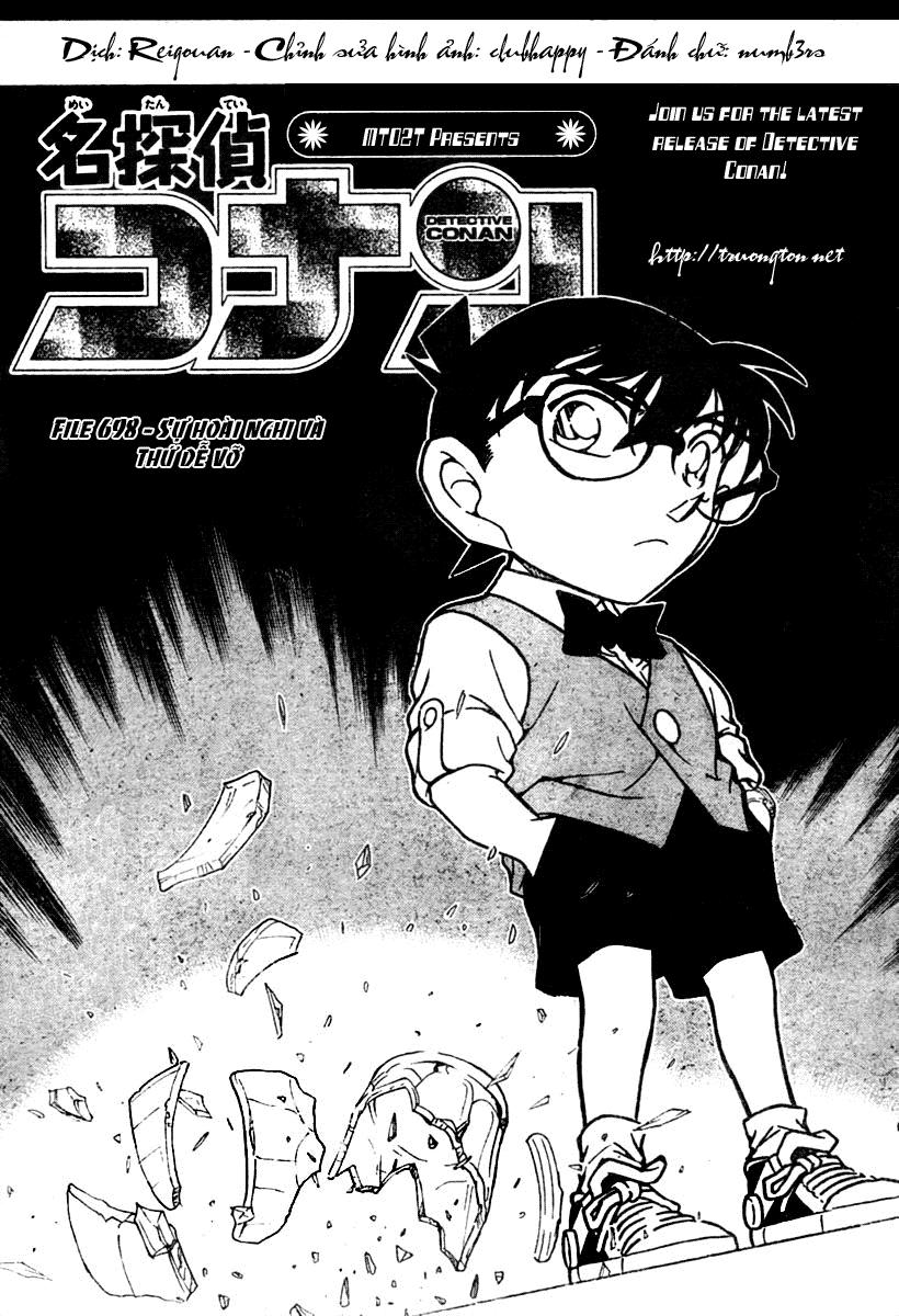 Detective Conan - Thám Tử Lừng Danh Conan chap 698 page 1 - IZTruyenTranh.com