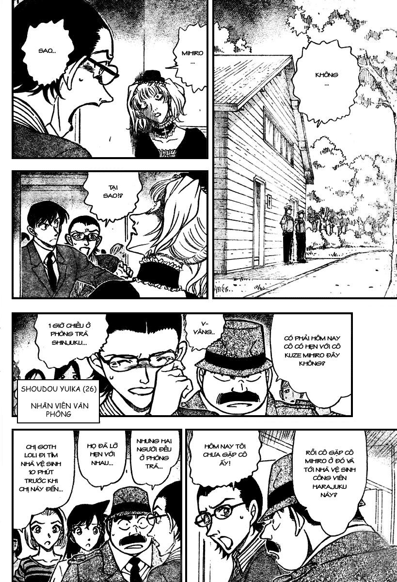 Detective Conan - Thám Tử Lừng Danh Conan chap 697 page 6 - IZTruyenTranh.com