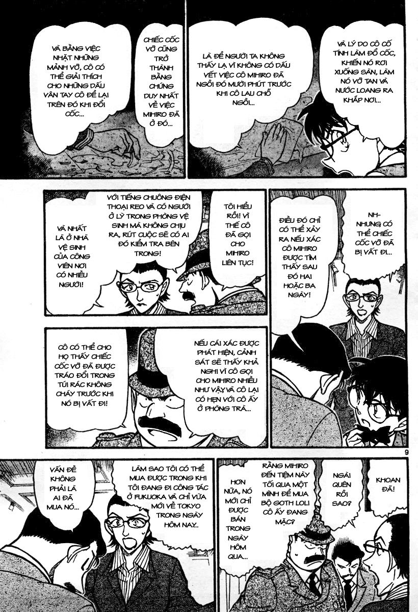 Detective Conan - Thám Tử Lừng Danh Conan chap 698 page 9 - IZTruyenTranh.com