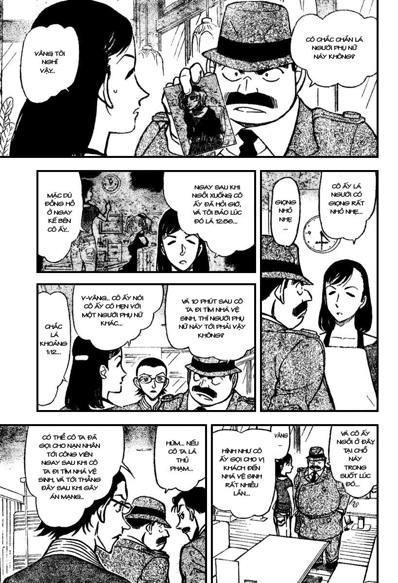 Detective Conan - Thám Tử Lừng Danh Conan chap 697 page 9 - IZTruyenTranh.com