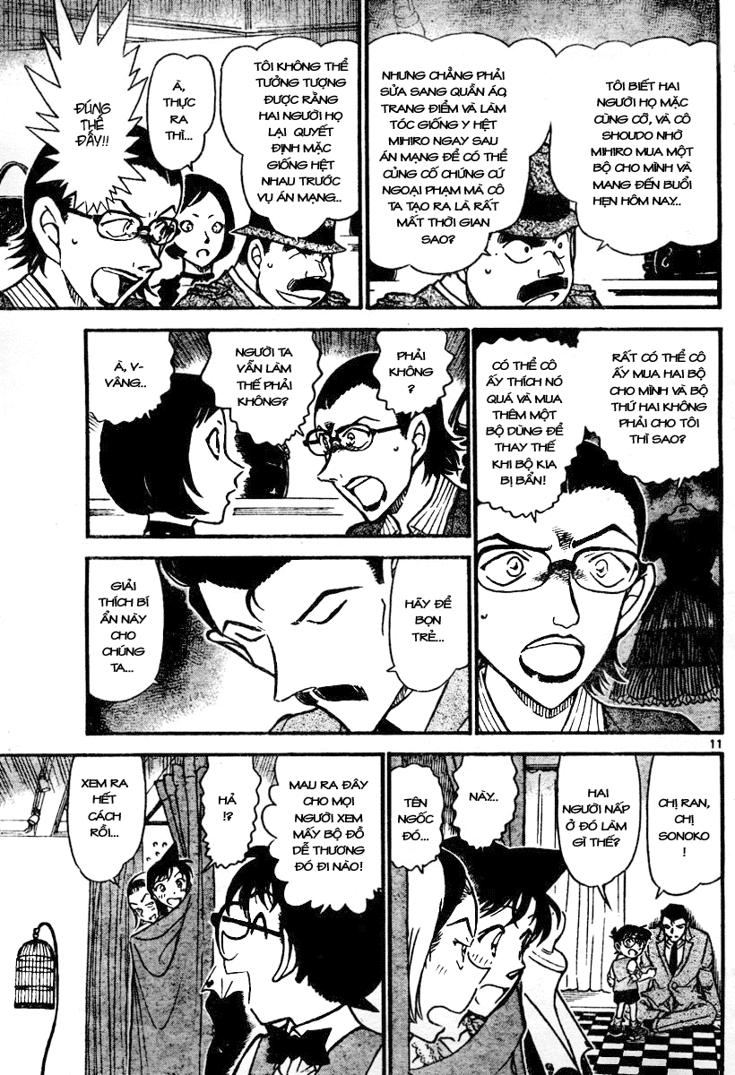 Detective Conan - Thám Tử Lừng Danh Conan chap 698 page 11 - IZTruyenTranh.com