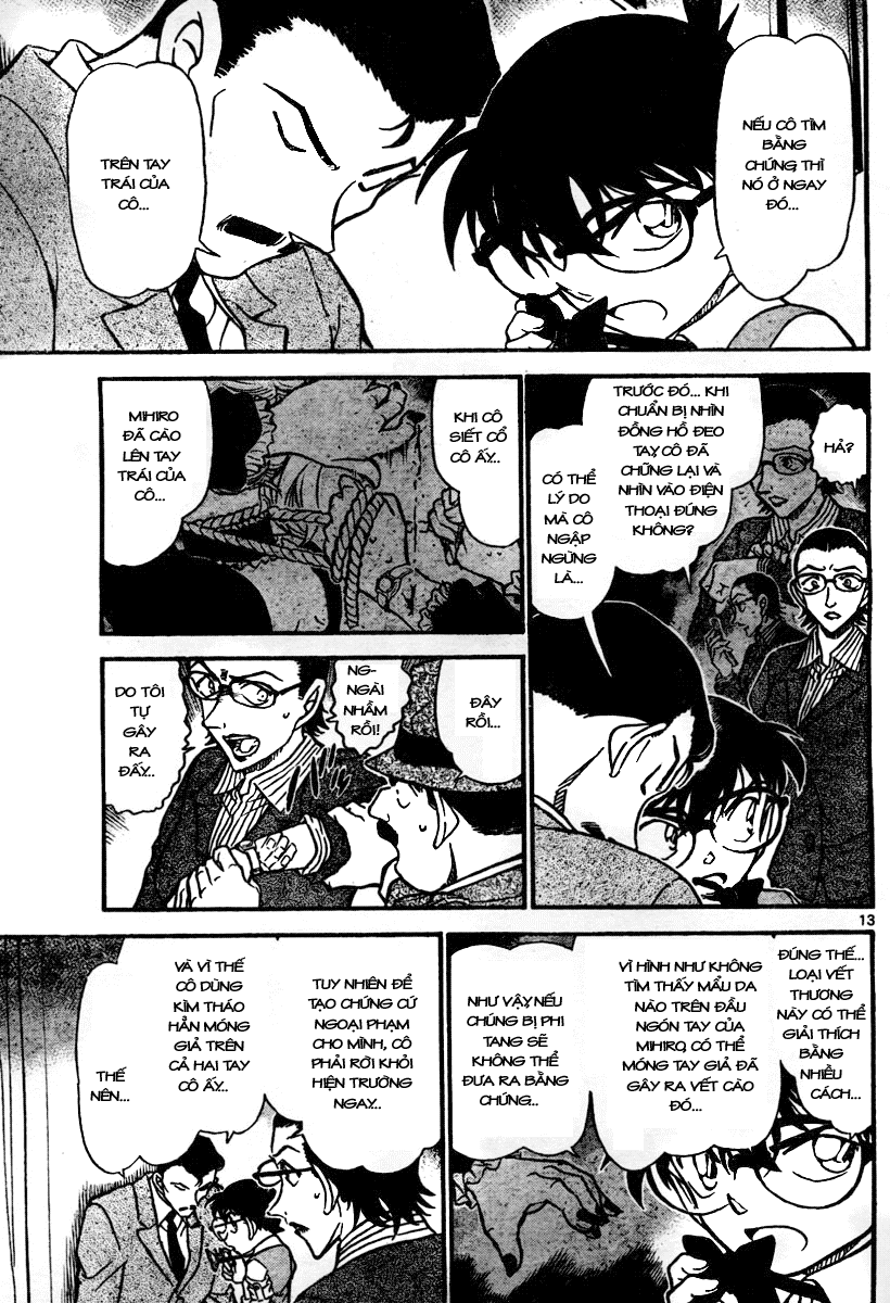 Detective Conan - Thám Tử Lừng Danh Conan chap 698 page 13 - IZTruyenTranh.com