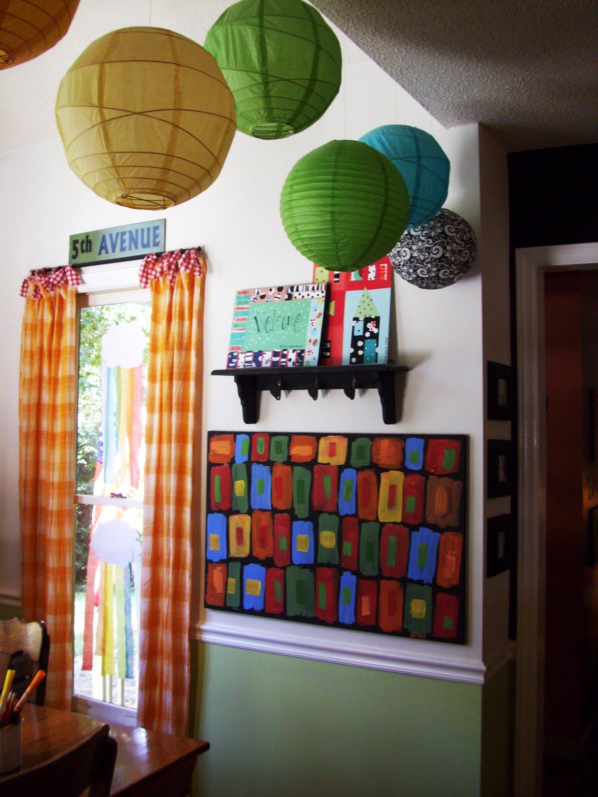 sara's art* house: kitchen and living room decor