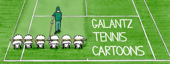 Galantz tennis cartoons