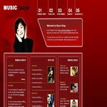 Music Shop Template