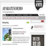 Blogspot Aparatus Template