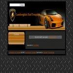 Lamborghini Blogspot Template